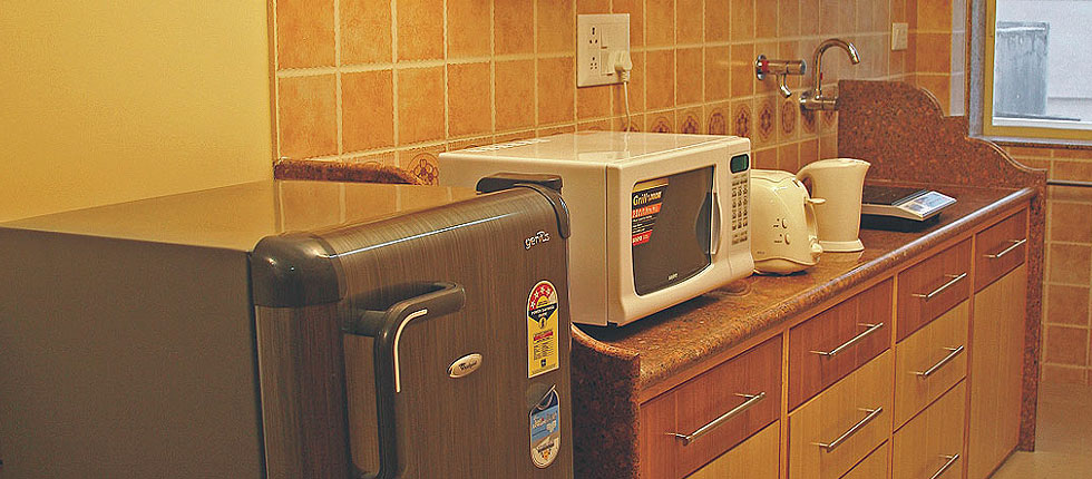 Equipped Kitchen with home appliances